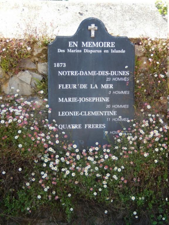 [ Histoire et histoires ] Mémoire de la pêche en Islande .Mur des disparus. 25710