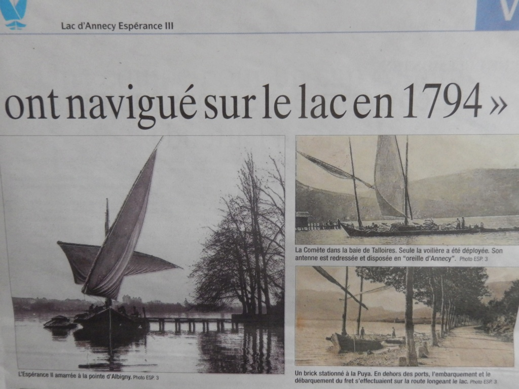 [ Marine à voile ] L'ESPERANCE III  Lac d'Annecy Dscn5615