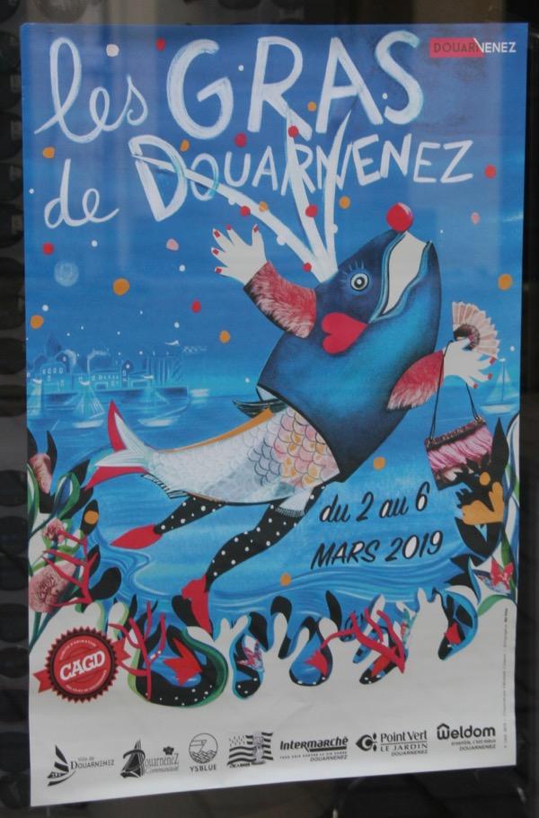 Carnaval des Gras 2019 Douarnenez Affich11