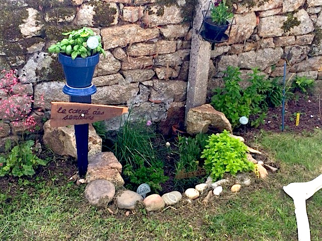 Mon petit coin d'herbes arômatiques Breton Carrei10