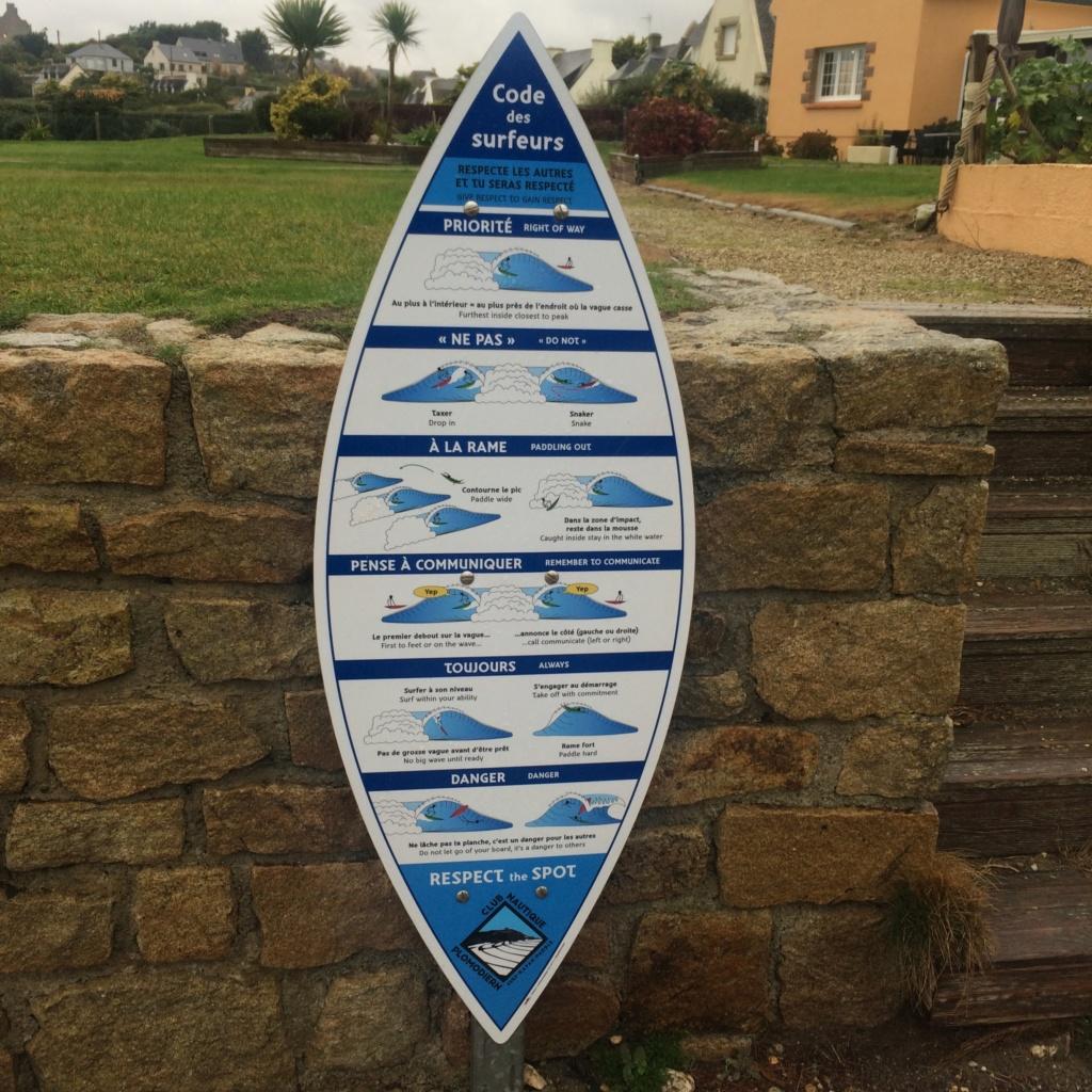 Conseils de prudence Surf  Surf10