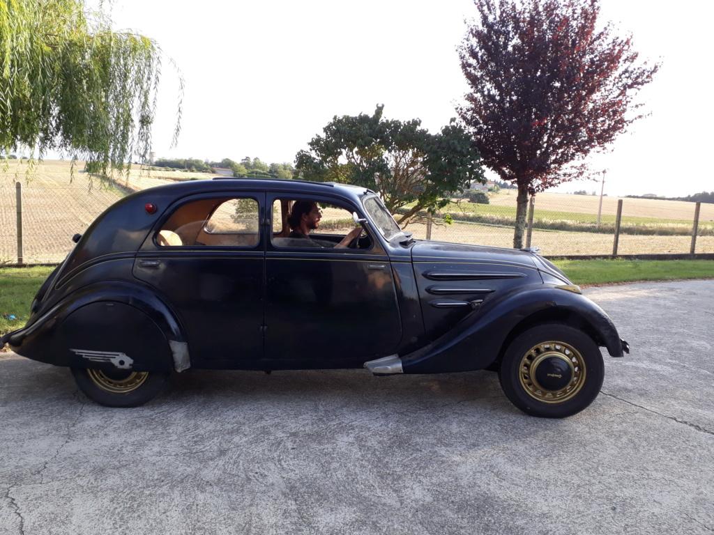 Peugeot 302 1936 sortie de grange 20190824