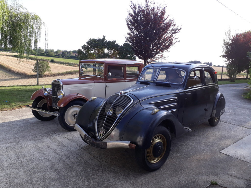 Peugeot 302 1936 sortie de grange 20190825