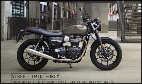 Street Twin Forum