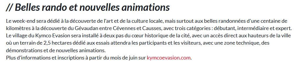KYMCO EVASION 2021 Kymco211