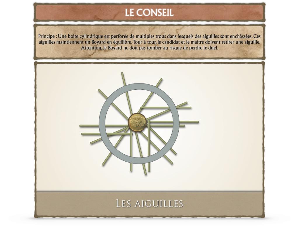 Débat CONSEIL ET SALLE DU TRÉSOR - Fort Boyard 2019 Aiguil10