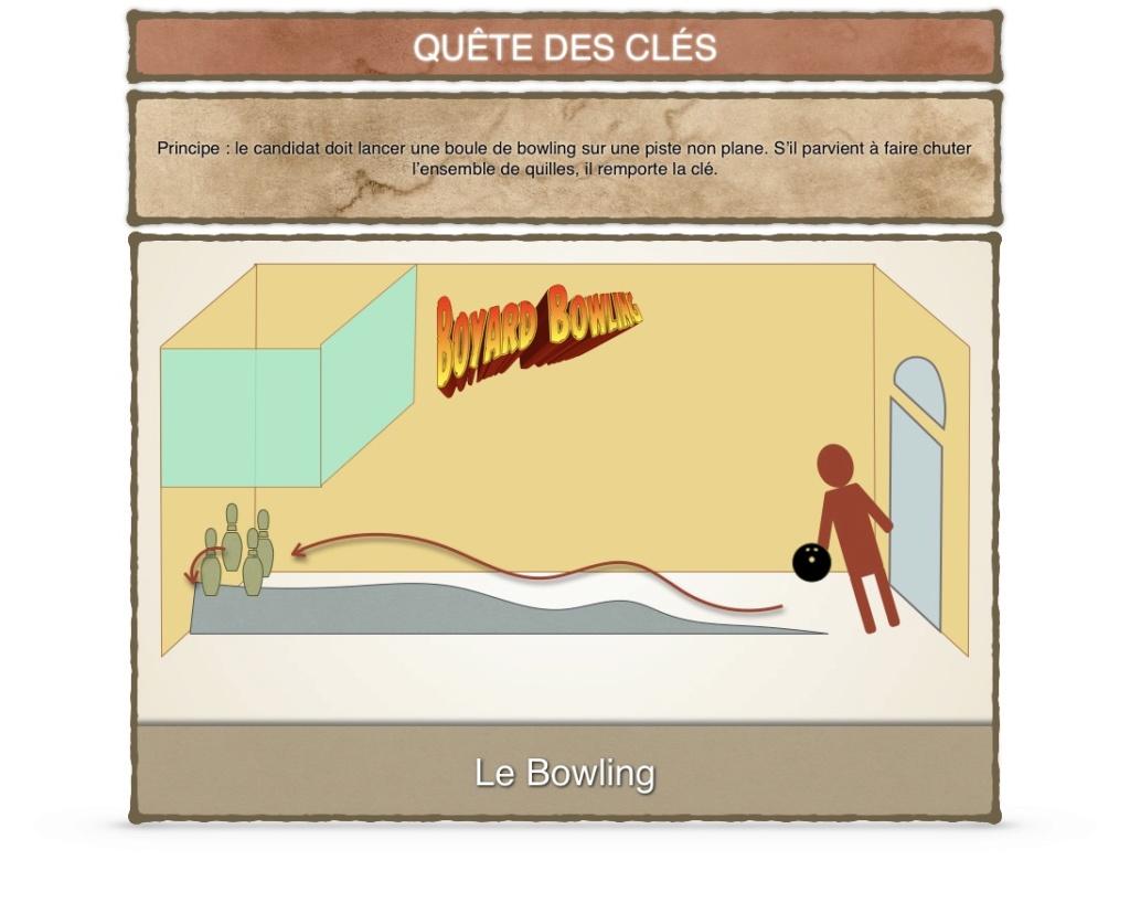Débat ÉPREUVES ET AVENTURES (Nouvelles idées, Modifications...) - Fort Boyard 2020 Bowlin11