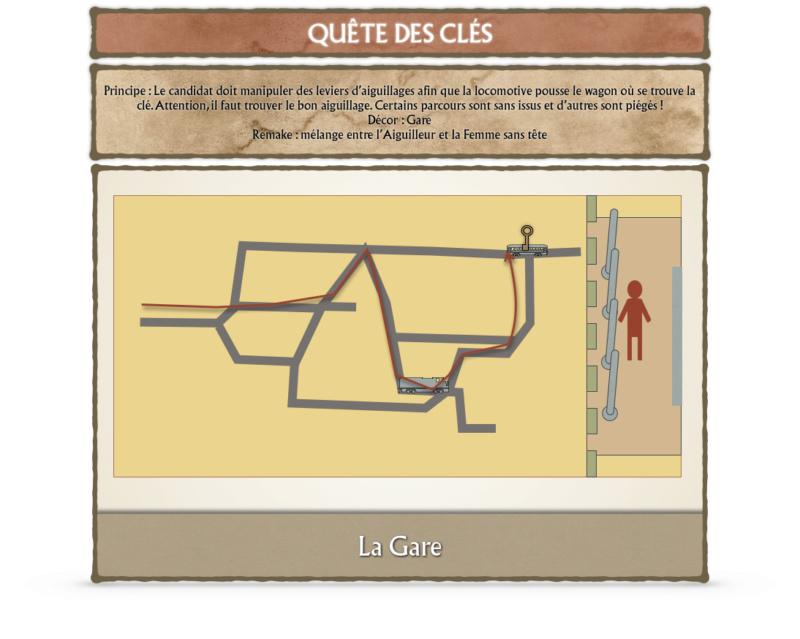 Débat ÉPREUVES ET AVENTURES (Nouvelles idées, Modifications...) - Fort Boyard 2020 Gare10