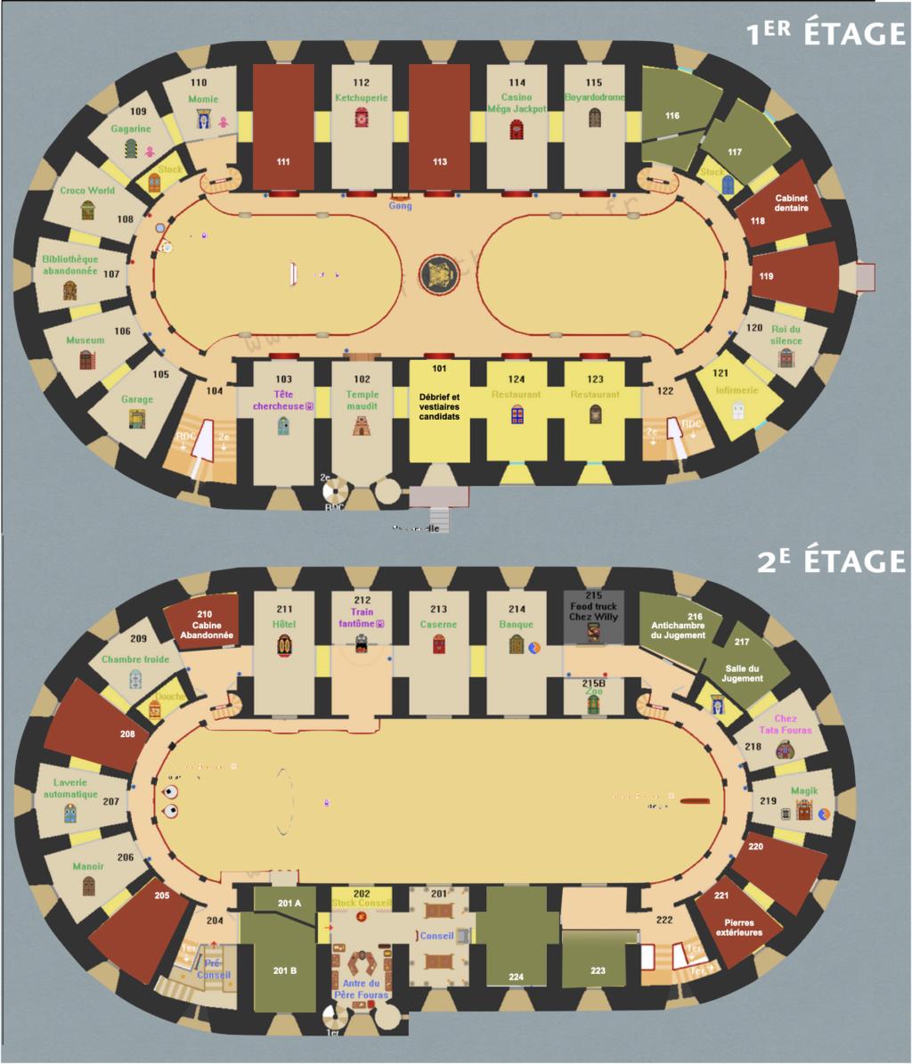 Débat ÉPREUVES ET AVENTURES (Nouvelles idées, Modifications...) - Fort Boyard 2021 Plan_210