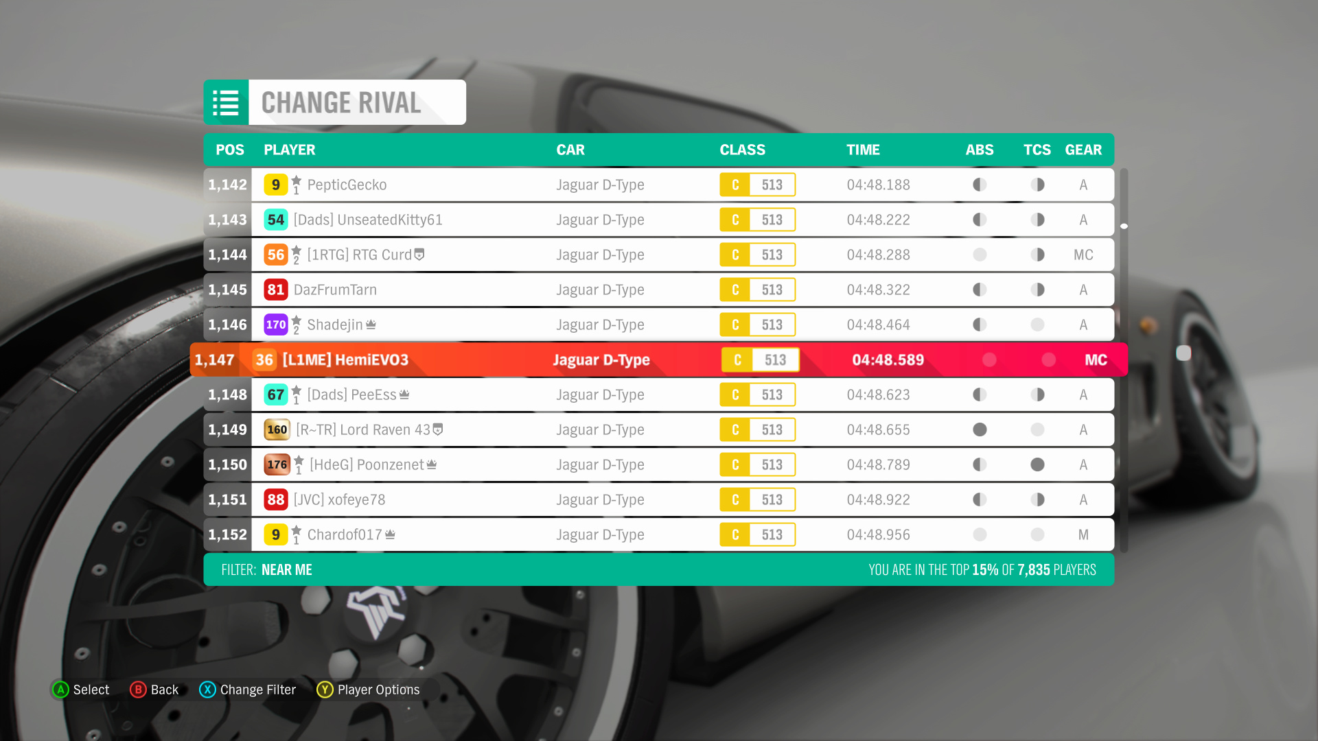 FH4 Time Attack | Road Racing Rivals - Lakehurst Forest Sprint (Jaguar D-Type) 2-3-2010