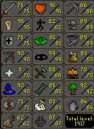 Kingo's Progress/Gains/Loot/Stuff Ironme10