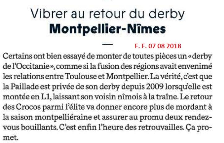 PRESENTATION DU NÎMES OLYMPIQUE  - SAISON  2018-2019 Img_7425