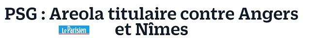 CHAMPIONNAT DE LIGUE 1 CONFORAMA , SAISON 2018-2019, J 4 : NÎMES OLYMPIQUE - PARIS SAINT-GERMAIN  Img_7711