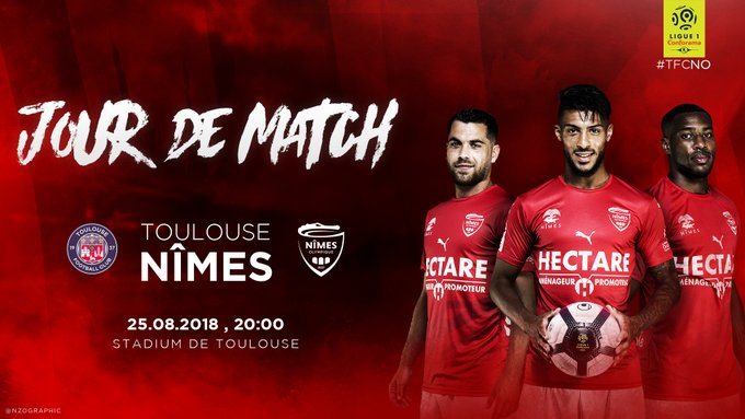 CHAMPIONNAT DE LIGUE 1 CONFORAMA - SAISON 2018-2019 -  J 3 : TOULOUSE FC  - NÎMES OLYMPIQUE  Img_7715