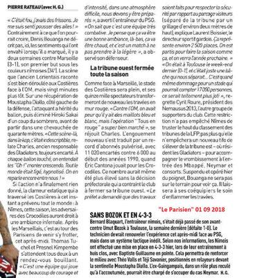 CHAMPIONNAT DE LIGUE 1 CONFORAMA , SAISON 2018-2019, J 4 : NÎMES OLYMPIQUE - PARIS SAINT-GERMAIN  - Page 2 Img_7781