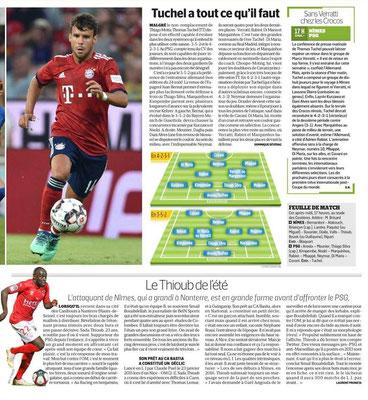 CHAMPIONNAT DE LIGUE 1 CONFORAMA , SAISON 2018-2019, J 4 : NÎMES OLYMPIQUE - PARIS SAINT-GERMAIN  - Page 2 Img_7782