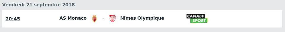 6e JOURNÉE DE LIGUE 1 CONFORAMA : AS MONACO / NÎMES OLYMPIQUE  Img_7817