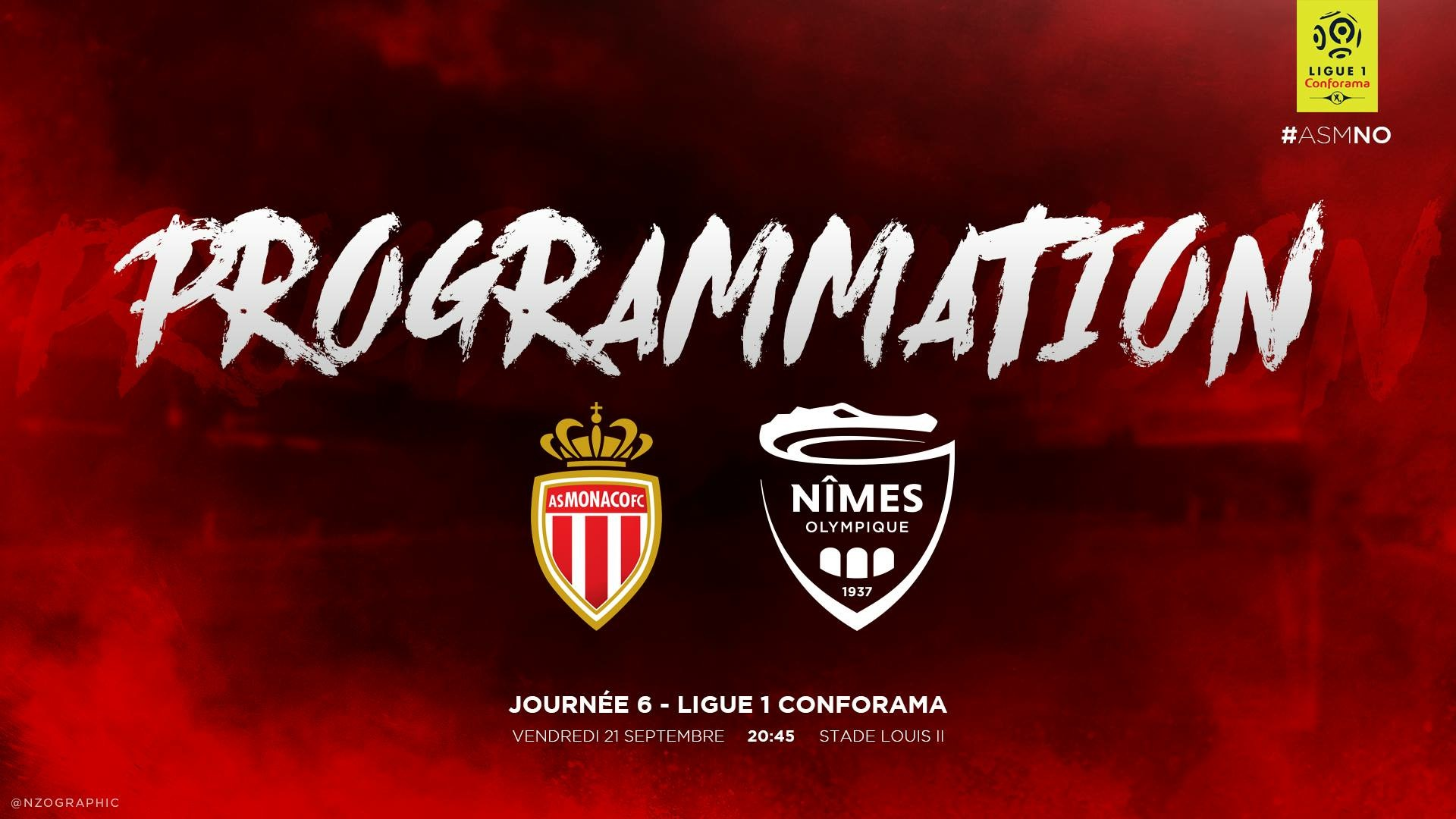 6e JOURNÉE DE LIGUE 1 CONFORAMA : AS MONACO / NÎMES OLYMPIQUE  Img_7827
