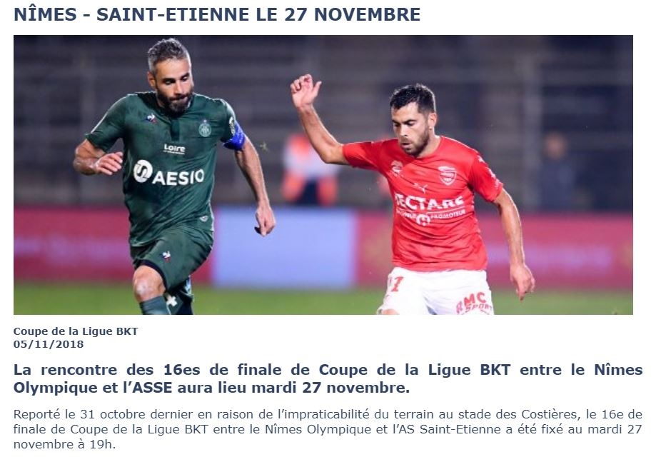 COUPE DE LA LIGUE. ÉDITION 2018-2019. - Page 2 Img_8218