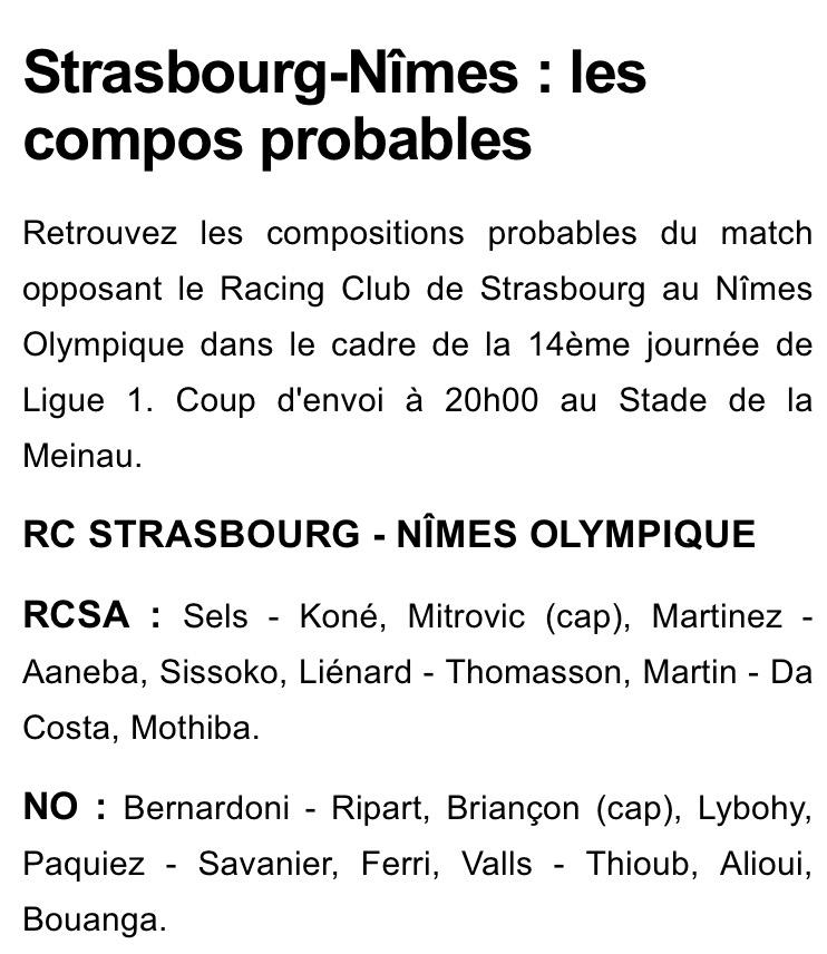 14 EME JOURNÉE DE LIGUE 1 CONFORAMA : RC STRASBOURG ALSACE / NÎMES OLYMPIQUE  - Page 2 Img_8310