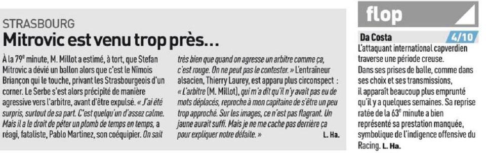 14 EME JOURNÉE DE LIGUE 1 CONFORAMA : RC STRASBOURG ALSACE / NÎMES OLYMPIQUE  - Page 2 Img_8317