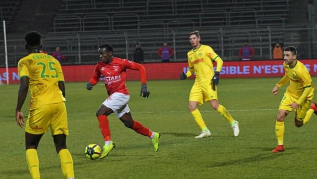 24e JOURNÉE DE LIGUE 1 CONFORAMA : FC NANTES - NIMES OLYMPIQUE  Img_8742