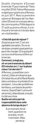 24e JOURNÉE DE LIGUE 1 CONFORAMA : FC NANTES - NIMES OLYMPIQUE  - Page 2 Img_8746
