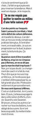 24e JOURNÉE DE LIGUE 1 CONFORAMA : FC NANTES - NIMES OLYMPIQUE  - Page 2 Img_8747