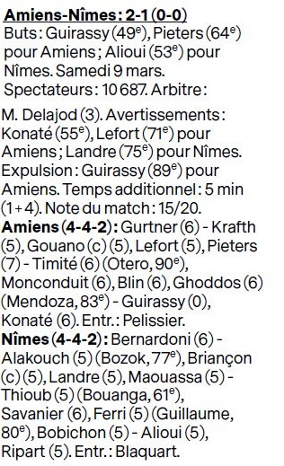28EME JOURNEE DE LIGUE 1 CONFORAMA : AMIENS SC - NO  - Page 2 Img_8921