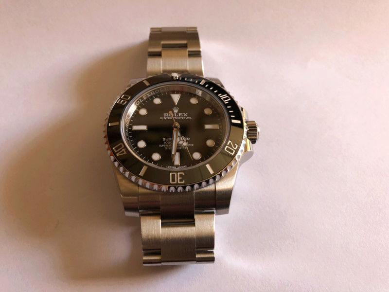 Presentación: Rolex Submariner 114060 15200020