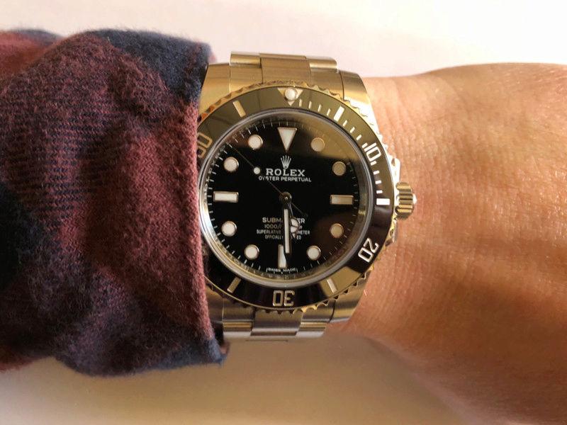 Presentación: Rolex Submariner 114060 15200021