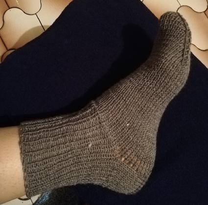 Provocare tricotat nr. 1 - Şosete, botoşei, jambiere. - Pagina 5 Cc10
