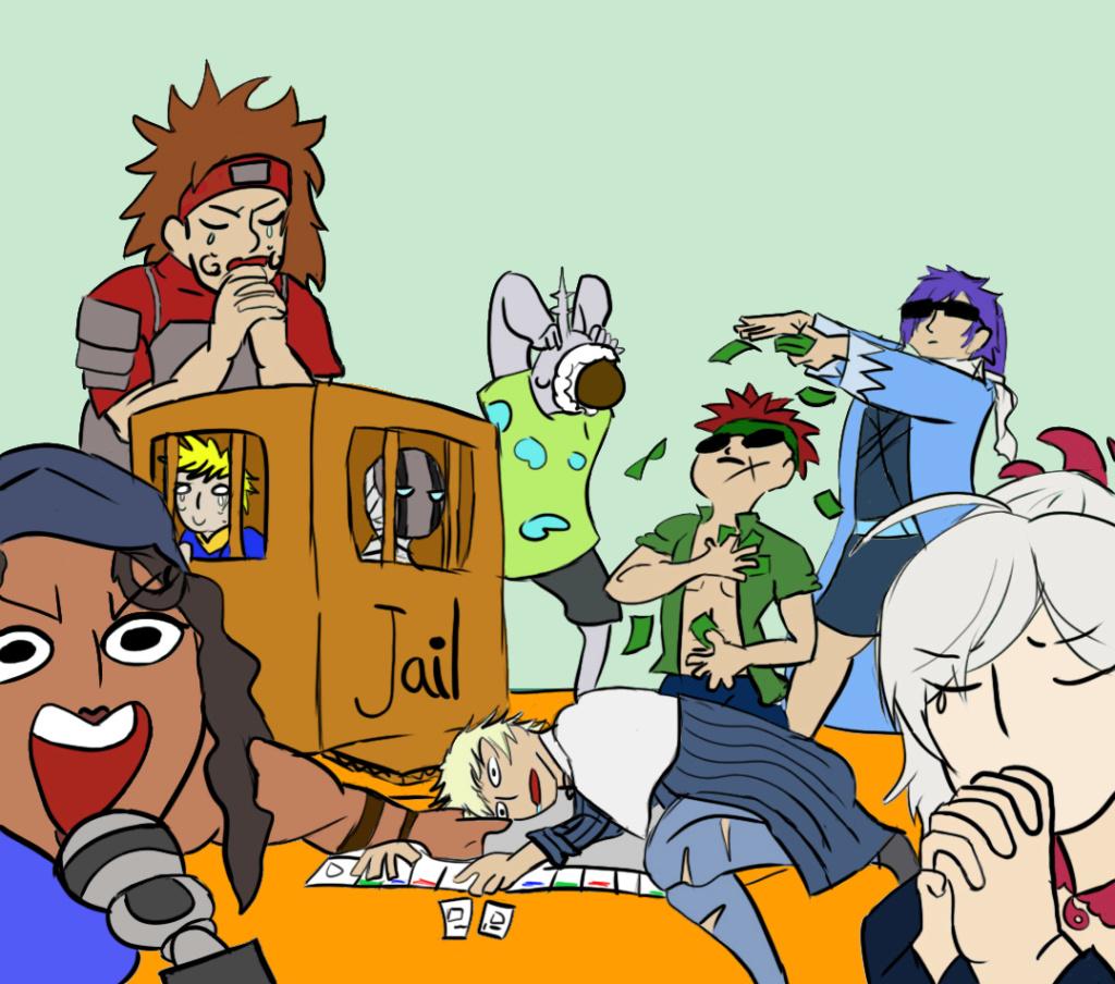Nunca, pero es que nunca, retes a un Kenshin a un juego de mesa(?) Arashi11