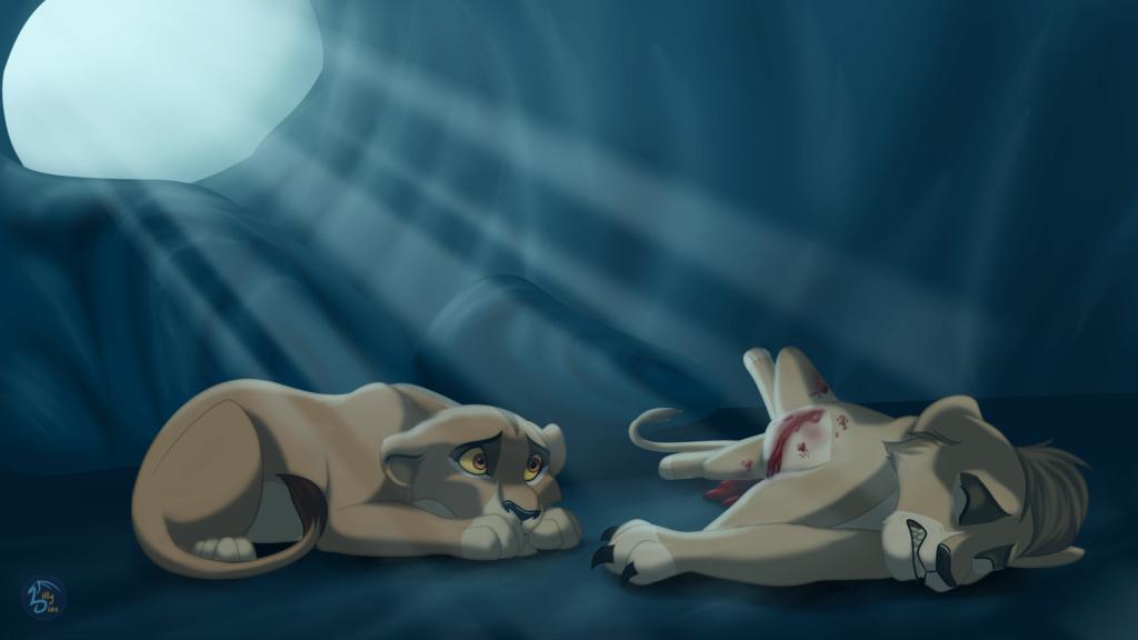 Leontubre... o sea, Inktober pero con leones xd Miedo10