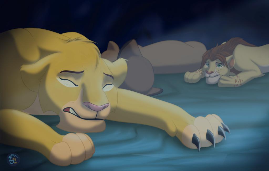 Leontubre... o sea, Inktober pero con leones xd Pesadi10