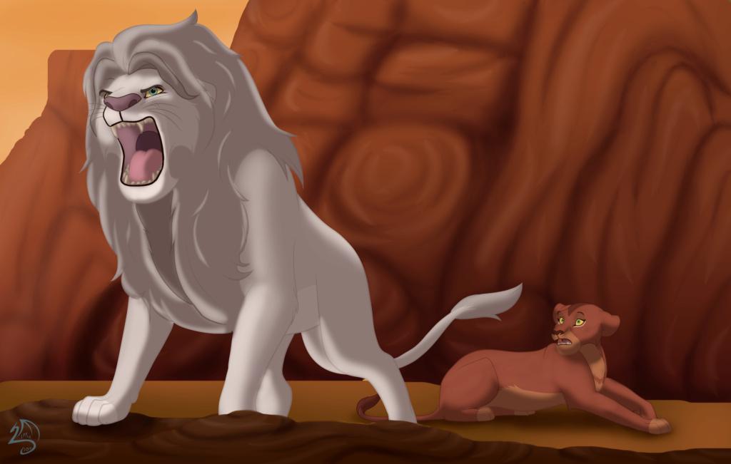 Leontubre... o sea, Inktober pero con leones xd Rugido10