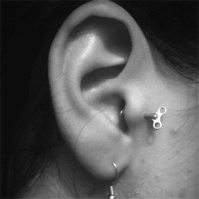 Oreille - Cartilage,Tragus 12-new10