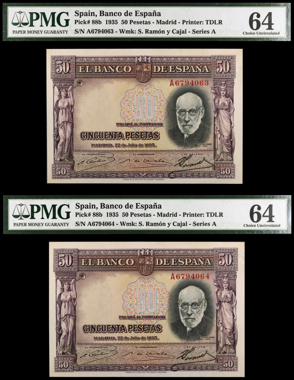 "GRANDES MISTERIOS (V) - 50 pesetas 1935 serie ""A"" (Ramón y Cajal) - Página 3 206310"