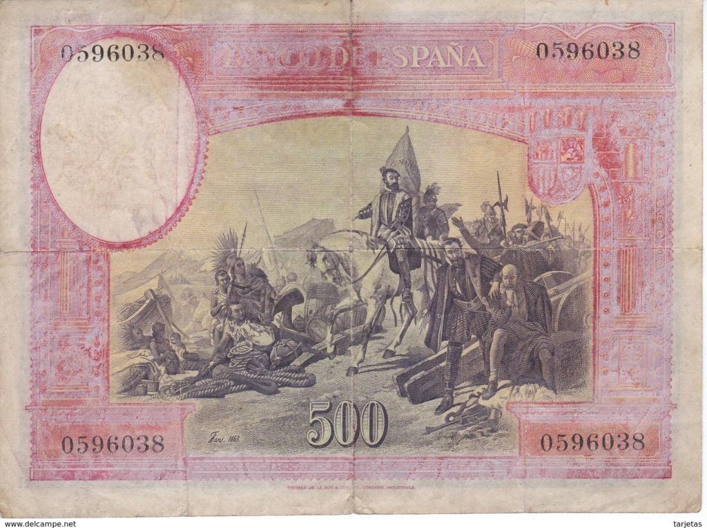 500 Pesetas 1935 - HERNAN CORTES - Página 2 611_0010
