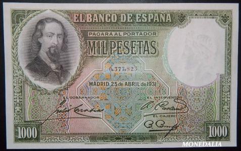 GRANDES MISTERIOS (I) - Tacos existentes 1000 pesetas 1931 Zorrilla - Página 5 Descar10