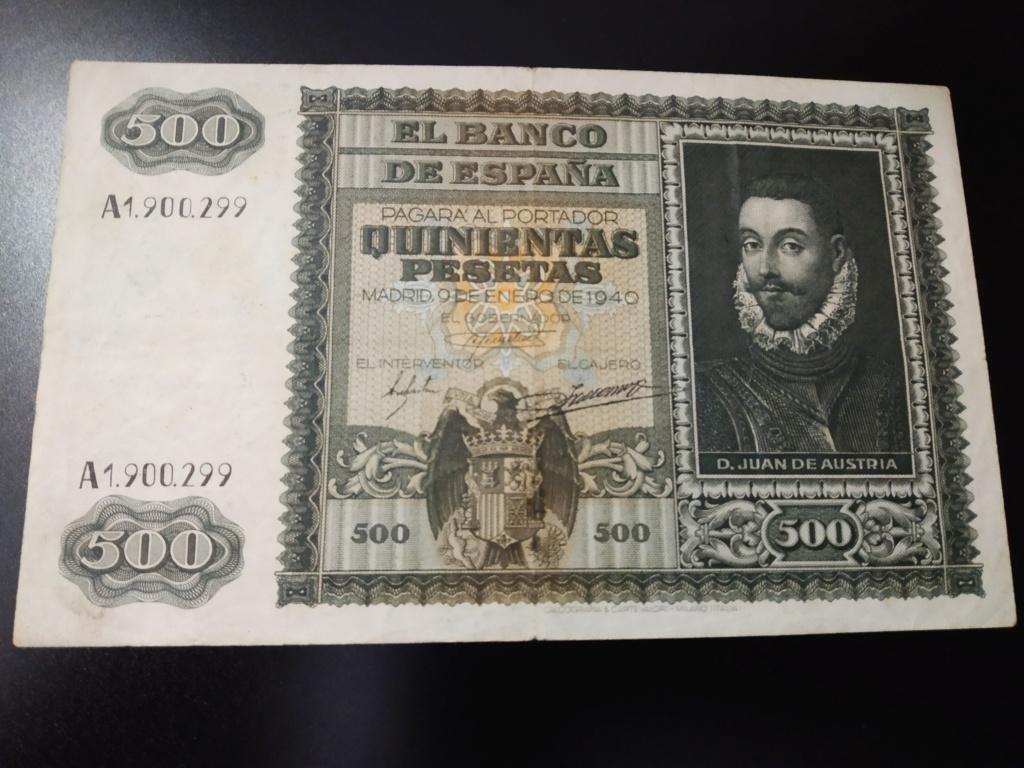 500 pesetas 1940, DON JUAN DE AUSTRIA y la Batalla de Lepanto Img_2059
