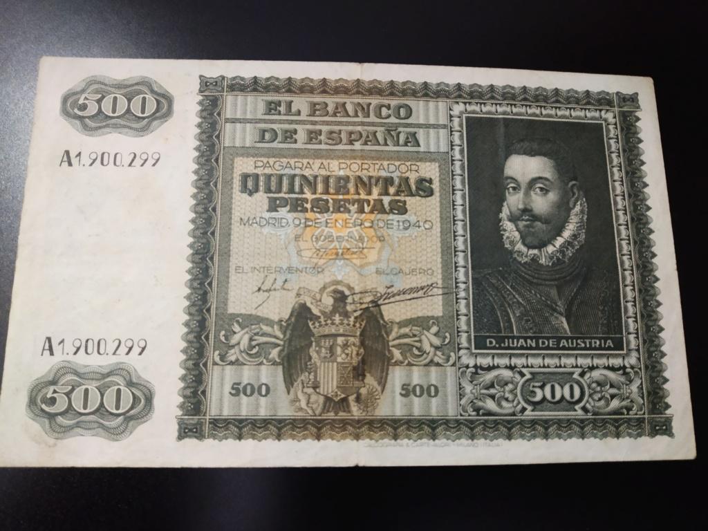 500 pesetas 1940, DON JUAN DE AUSTRIA y la Batalla de Lepanto Img_2060