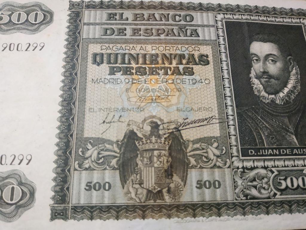 500 pesetas 1940, DON JUAN DE AUSTRIA y la Batalla de Lepanto Img_2061