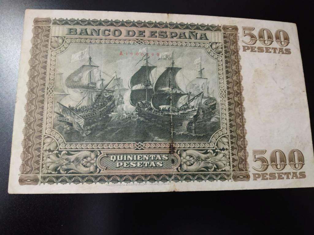 500 pesetas 1940, DON JUAN DE AUSTRIA y la Batalla de Lepanto Img_2064