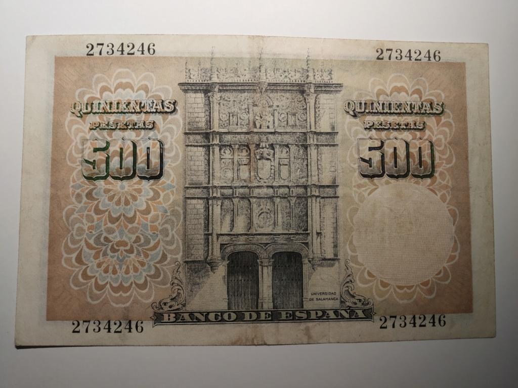 500 pesetas 1946 - Francisco de Vitoria Img_2066