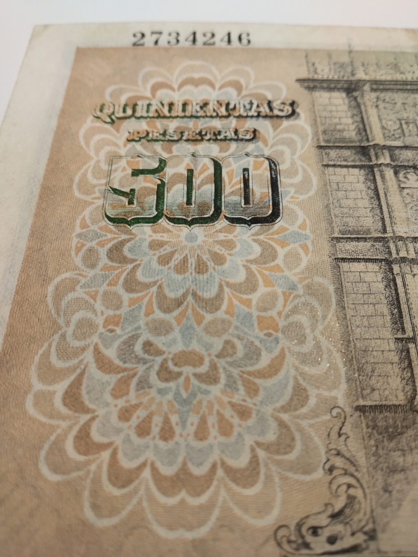 500 pesetas 1946 - Francisco de Vitoria Img_2068