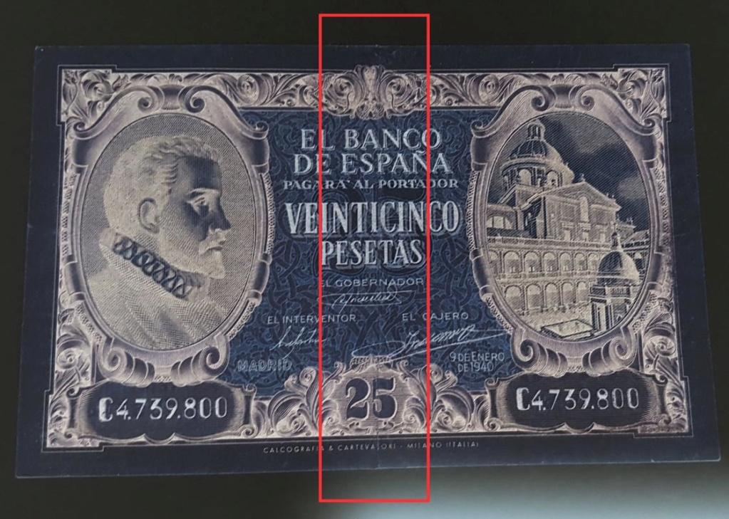25 pesetas 1940 - Juan de Herrera Img_2070