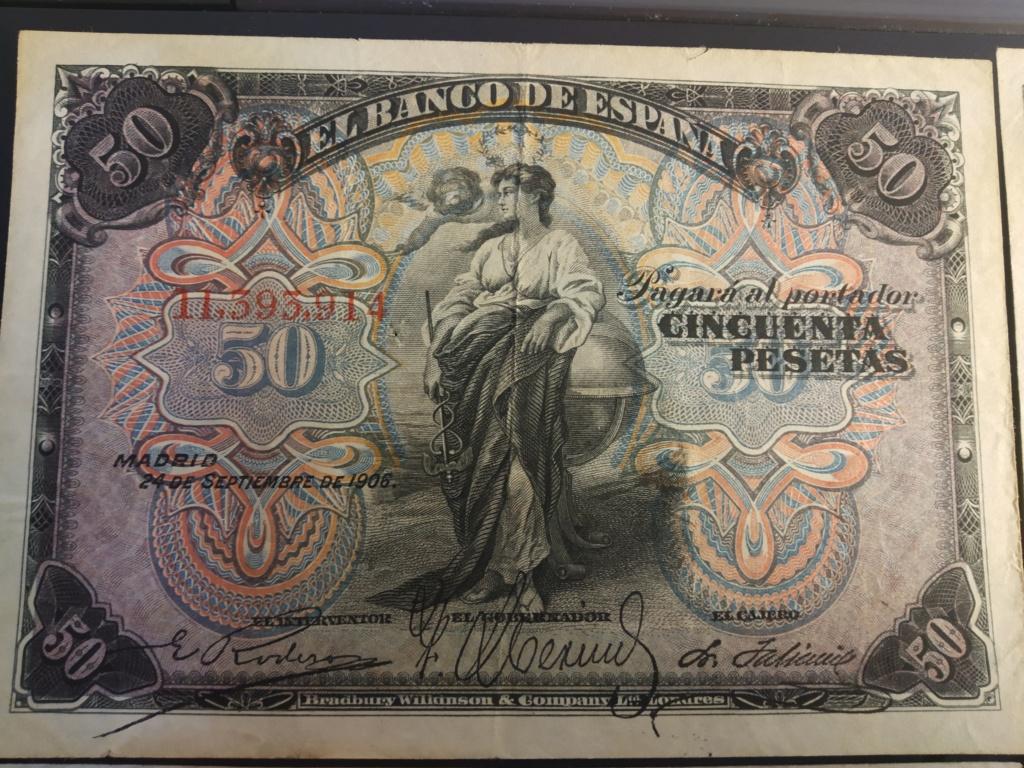 50 Pesetas 1906, serie completa dedicada a Cervantino Img_2072