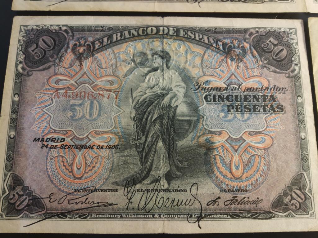 50 Pesetas 1906, serie completa dedicada a Cervantino Img_2074