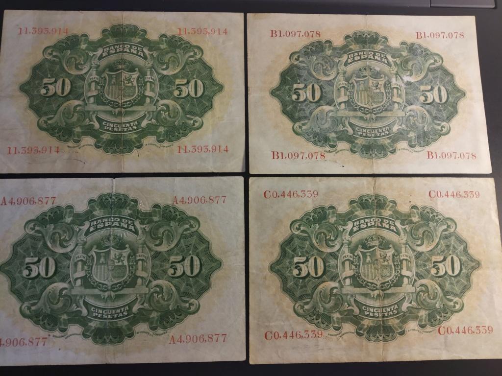 50 Pesetas 1906, serie completa dedicada a Cervantino Img_2076